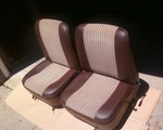 USED Pair (2) OEM front recliner seats - excellent Mini