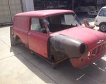 1967 Morris Body Shell Only Van None