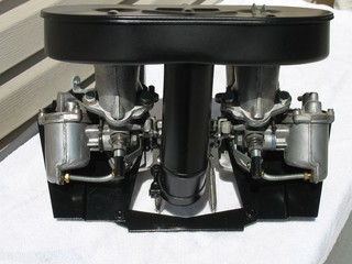 Part: Mini Twin Carburetor - Dual