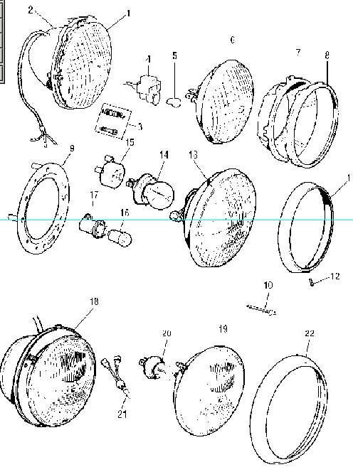 mini wiring loom diagram