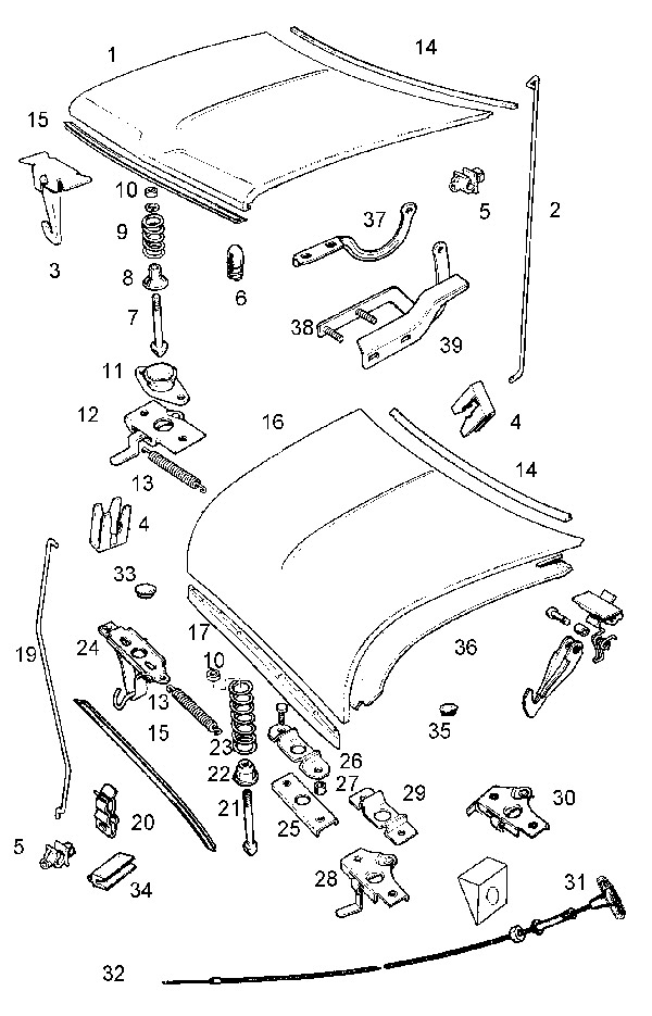 Mini Cooper Hood Latch Diagram 30 Wiring Diagram Images