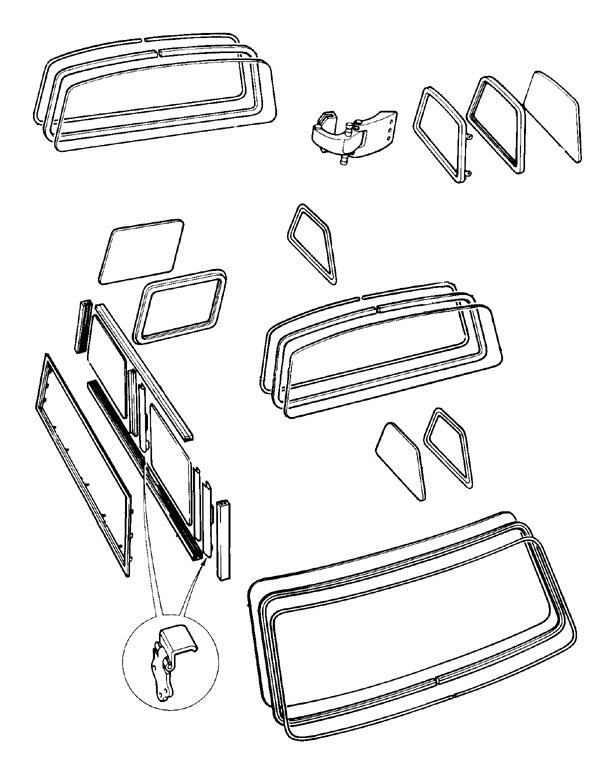 mini van rear door diagram