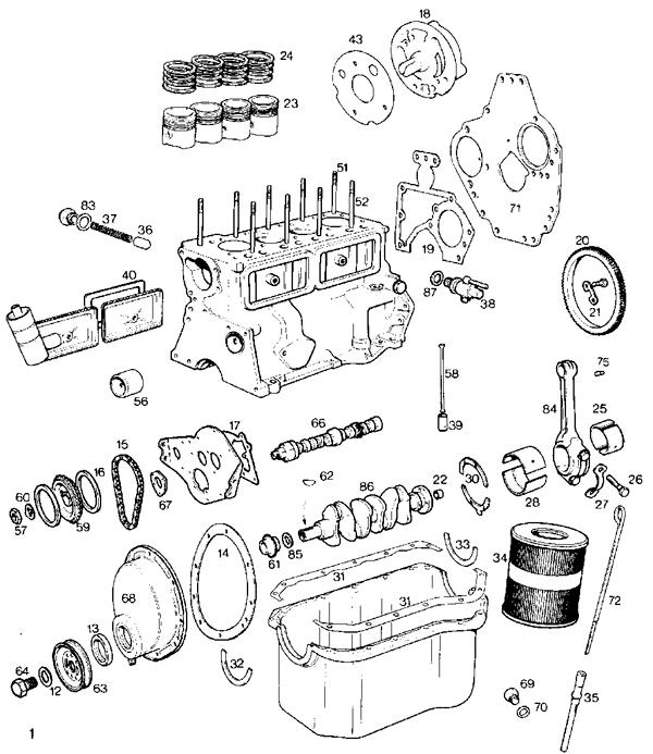 mini cooper parts catalog Simple Engine Diagram V6 Engine Diagram