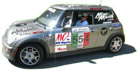 Mini Cooper Race Car