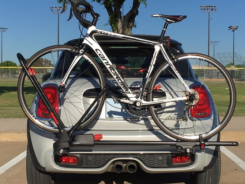 Mini Cooper Bike Rack Mounting System For Luggage