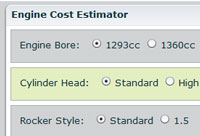 Engine Cost Estimator Tool!