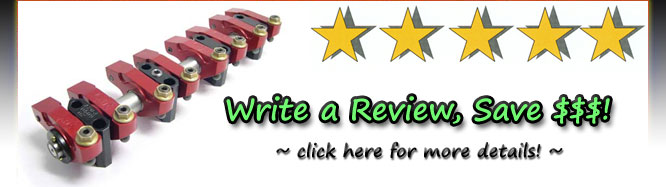 Write a product review, save $$$!