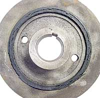 Mini Cooper crankshaft pulley