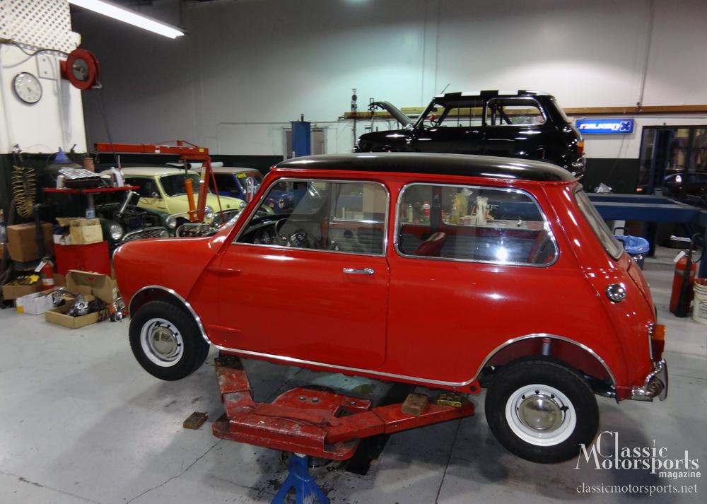 1967 Mini Cooper S Restoration - Mini Mania & Classic Motorsports