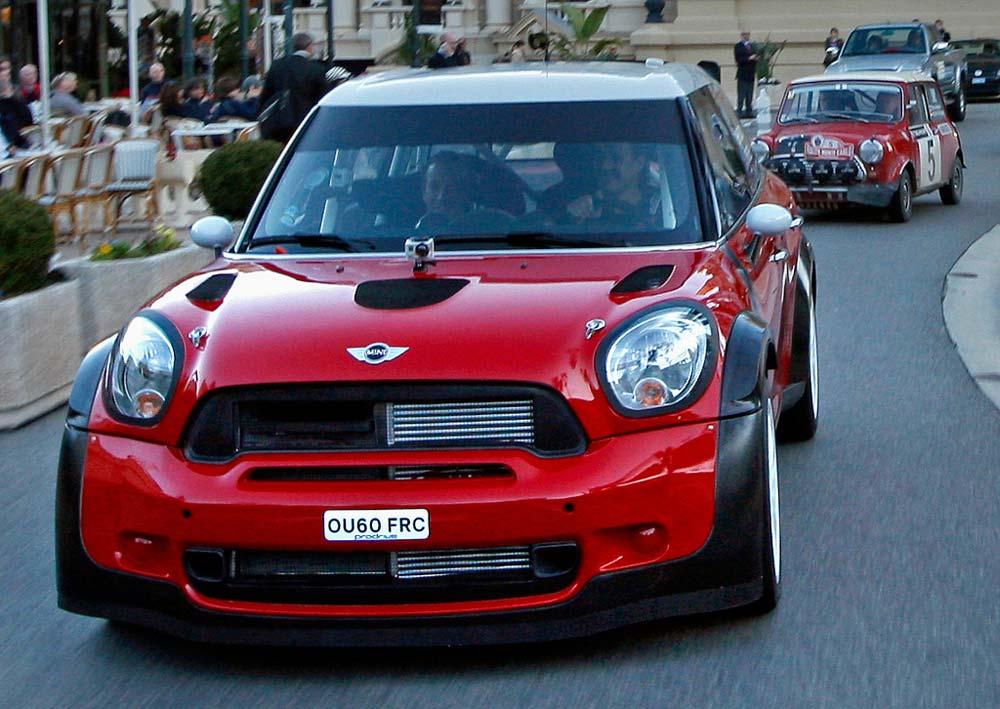 Bmw Mini Cooper S Rally Car