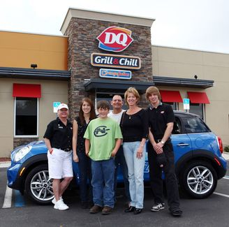 Dairy Queen Mini Cooper Giveaway - Mini Mania Inc.