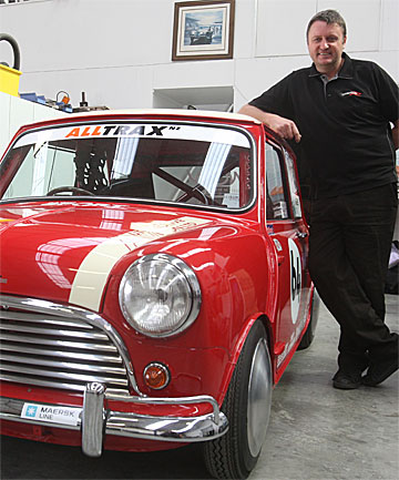 New Zealand's Nelson Hartley Goes for Speed - Mini Mania Inc