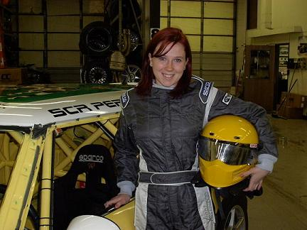 Savannah Rickli and her MINI at Pikes Peak Hill Climb - Mini Mania Inc.