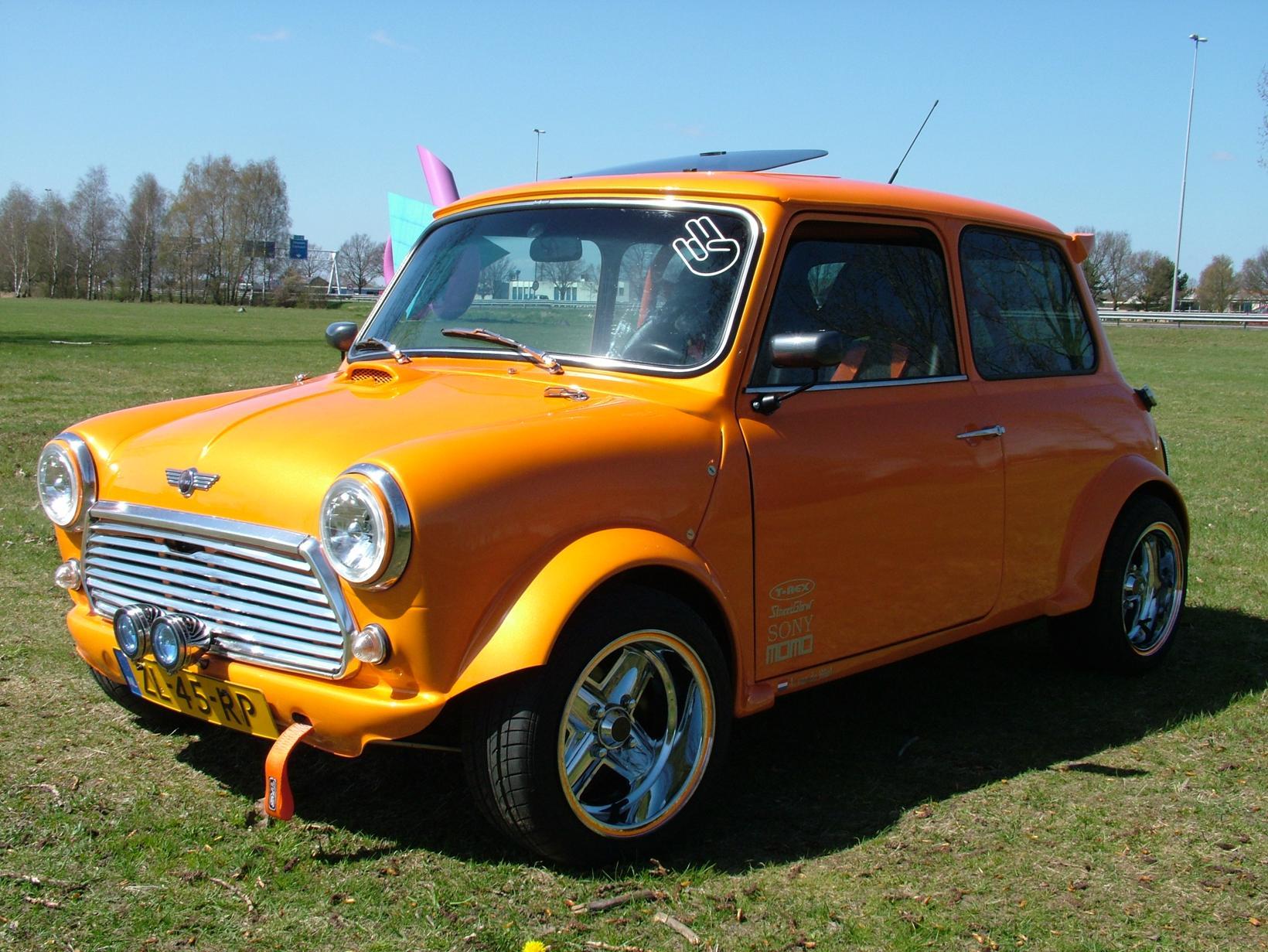 2014 Classic Mini Cooper Calendar Entries