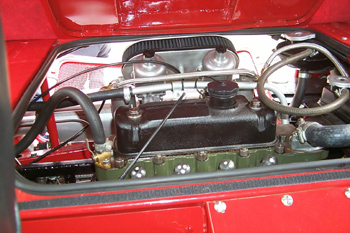 Rear engine Mini Cooper S