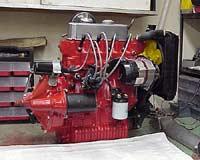 Mini Cooper Engine with Alternator
