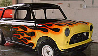 Modified Mini Cooper