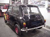 Mini Cooper with Bumper Corner Bars