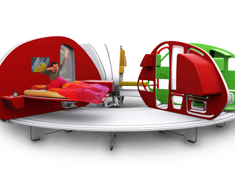 a MINI mobile home, in a mini trailer - Mini Mania Inc.