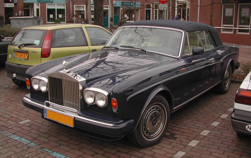 1993 25th Anniversary Ming Blue Rolls Royce Corniche - Mini Mania Inc.