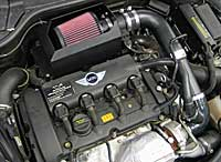 mini cooper intake k n typhoon gen2 n14 2007 2010. Black Bedroom Furniture Sets. Home Design Ideas
