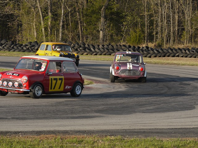 Mini Mania Mini's at Hallet Raceway Oklahoma - Mini Mania Inc.