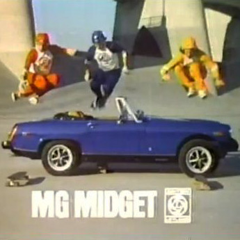 MG Midget Commercial - Spridget Mania Inc.