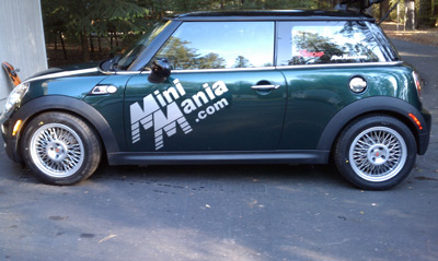 Borrani on the MINI - Mini Mania