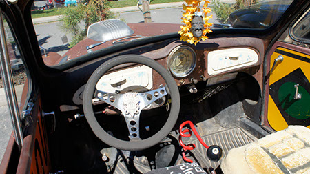 morris minor dashboard