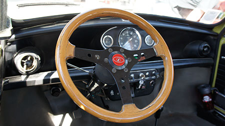 classic mini dashboard