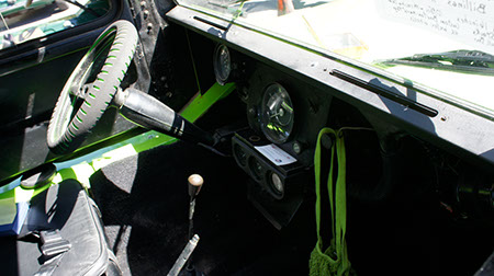 mini moke dashboard