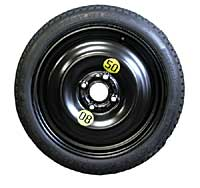 Tire Shops Open On Sunday >> Mini Cooper Space Saver Spare Tire, 15 Inch/4 Lug