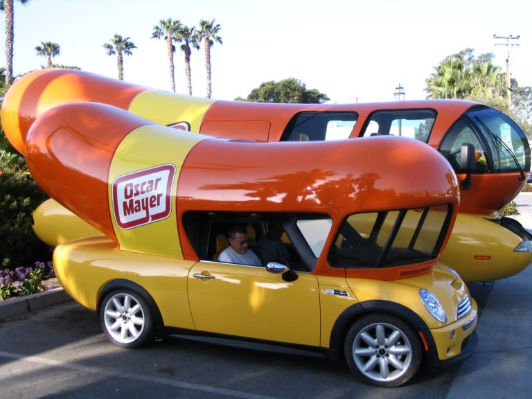 Oscar Mayer Mini Cooper