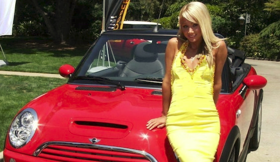 Sara Jean Underwood and her MINI Cooper Convertable - Mini Mania Inc.