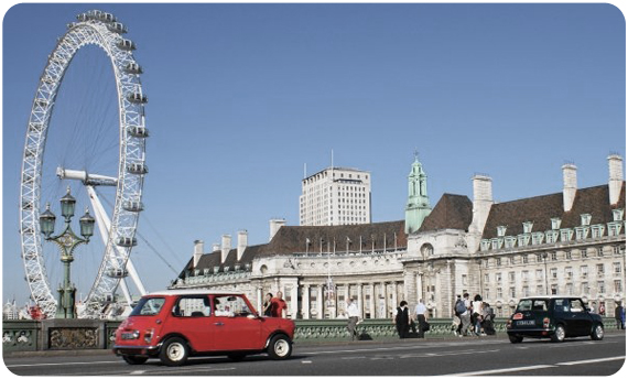 Tour London In A Mini With Small Car Big City