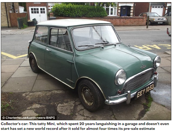 How Much is Your Classic Mini Really Worth?