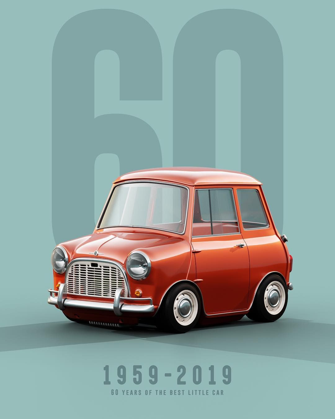 Mini Cooper 60th Anniversary - fun things to know.