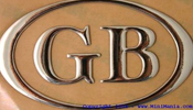 classic mini great britain GB badge