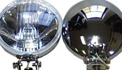 Classic Austin Mini Chrome Spotlight Driving Lights Pair