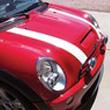 mini cooper bonnet stripes r50 r52 r53