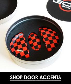 mini cooper door accents