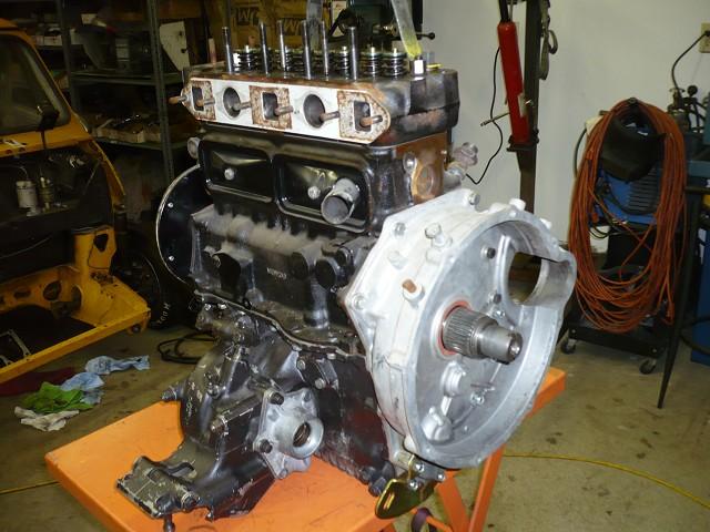 Mini Cooper race motor