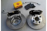 Austin Mini Super Brake Kit With 9.4 Brake Rotors