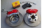 Superbrake Kit- Vtec For 13 Wheels Red 9.4 Rotors