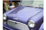 Classic Mini Deemax Power Bulge Bonnet Hood W/hinge Plate And Catch Mount