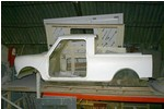Austin Mini Pick-up Body Shell Kit Fiberglass
