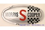 Austin Mini Bonnet 'morris Cooper S' Badge Mk11