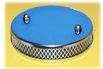 Austin Mini Foam Type Chrome 1.5 Pancake Air Filter