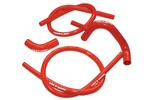 Austin Mini Silicone Hose Kit, Mkii 850/998/1100, Red