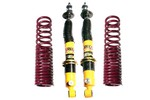 Austin Mini Rear Lowered Height Coilover Kit, Spax